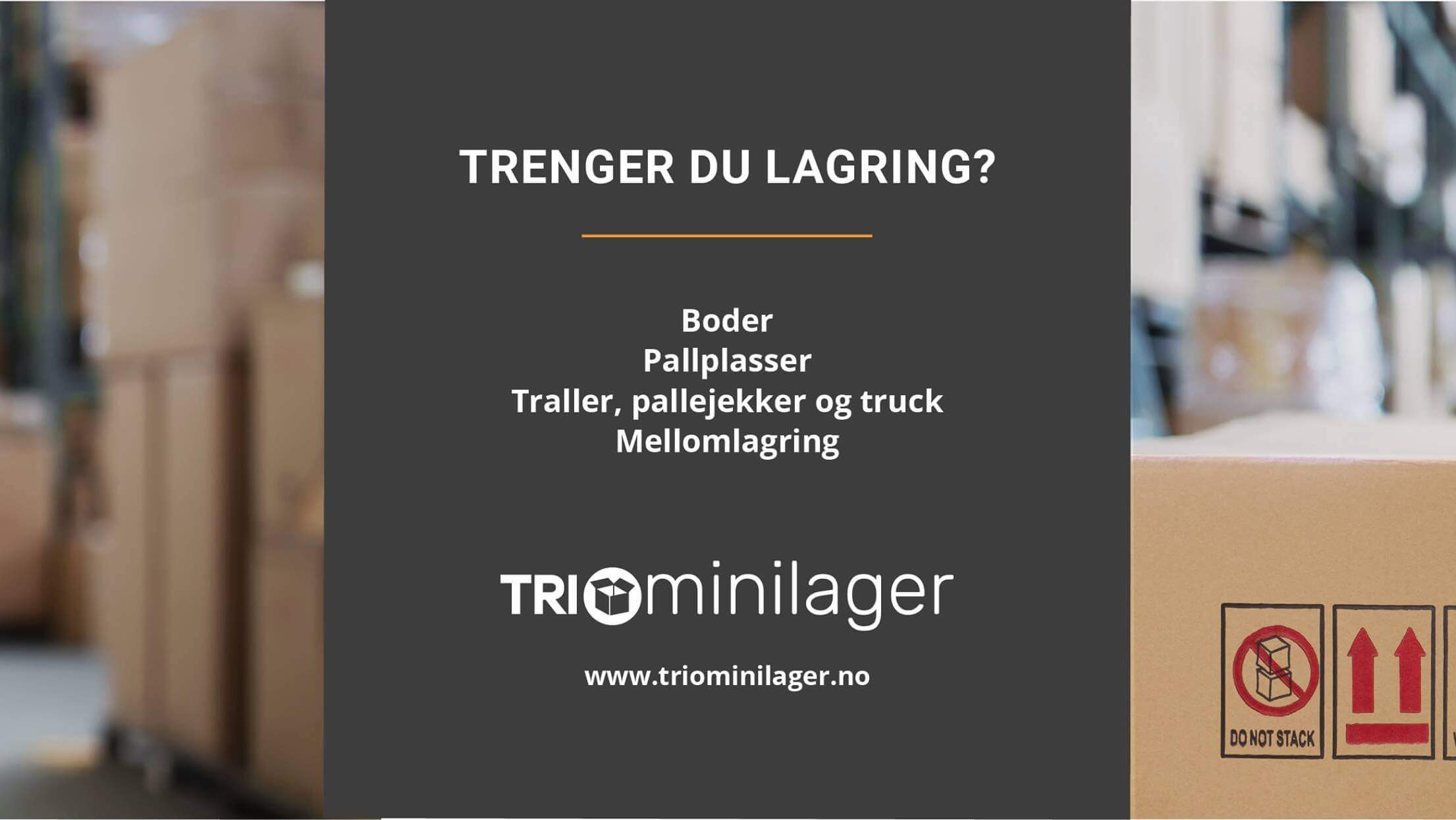Trio Minilager - Stord